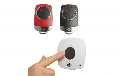 SECURE GARAGE DOOR CONTROL AT YOUR FINGER TIPS